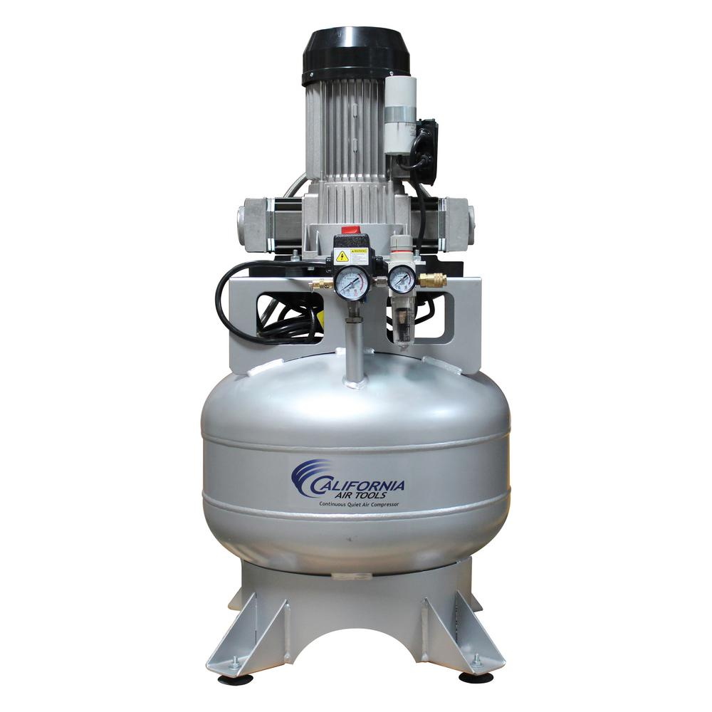 15 Gal. Stationary Ultra-Quiet and Oil-Free 100% Duty Cycle 2.0 HP