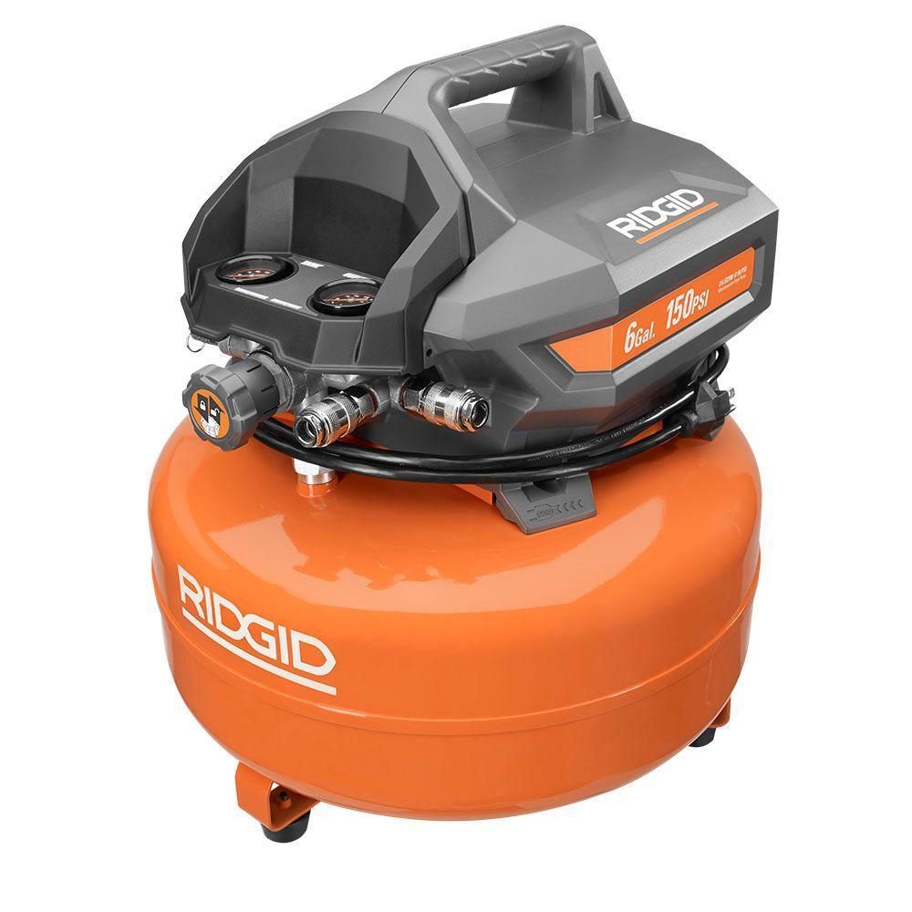 6 Gal. Portable Electric Pancake Compressor