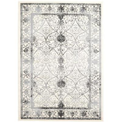 La Jolla Traditional Gray 7' 0 x 10' 0 Area Rug