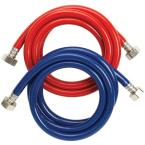 6 ft. Washing Machine Fill Hose High Pressure Set