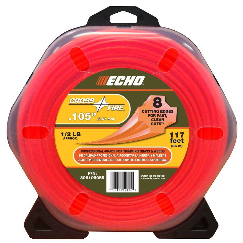 ECHO 1/2 lb. Donut 0.105 inch Cross-Fire Trimmer Line by ECHO