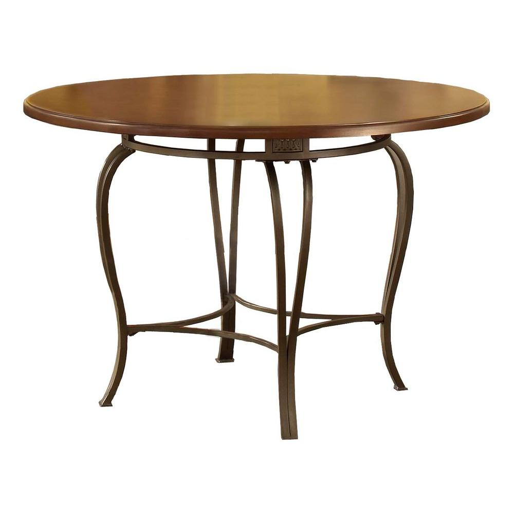 Hillsdale Furniture Montello Old Steel Dining Table DTB45