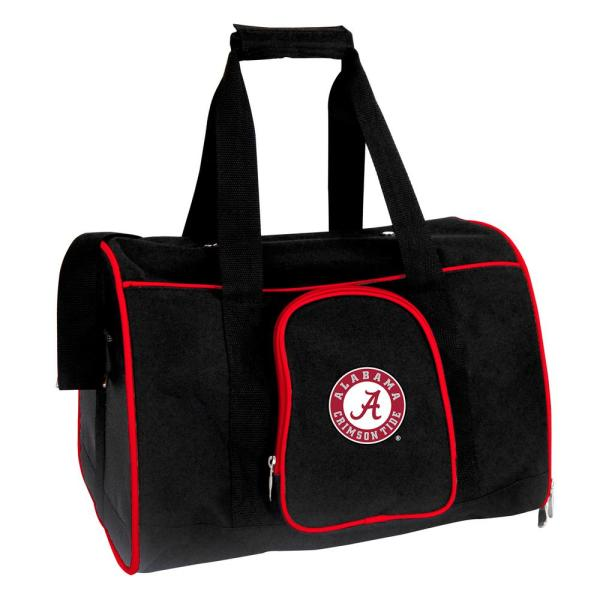 Denco NCAA Alabama Crimson Tide Pet Carrier Premium 16 in. Bag