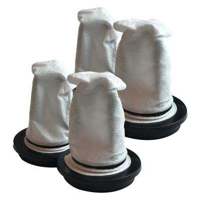 F18 Filters Replacement for Dirt Devil, Compatible with Part 3SI0880001 (4-Pack)