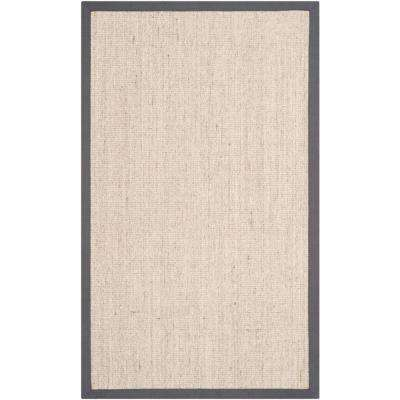 Natural Fiber Marble/Grey 10 ft. x 14 ft. Area Rug