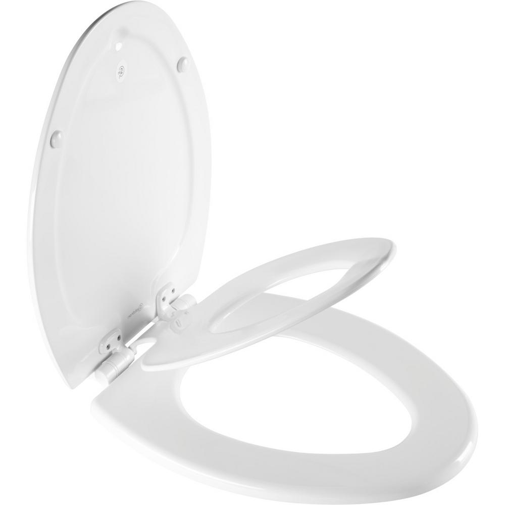 BEMIS BEMIS NextStep2 Children's Elongated Closed Front Toilet Seat in White