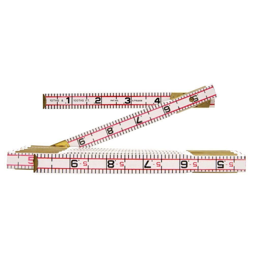 Lufkin 6 ft. Folding Wood Rule