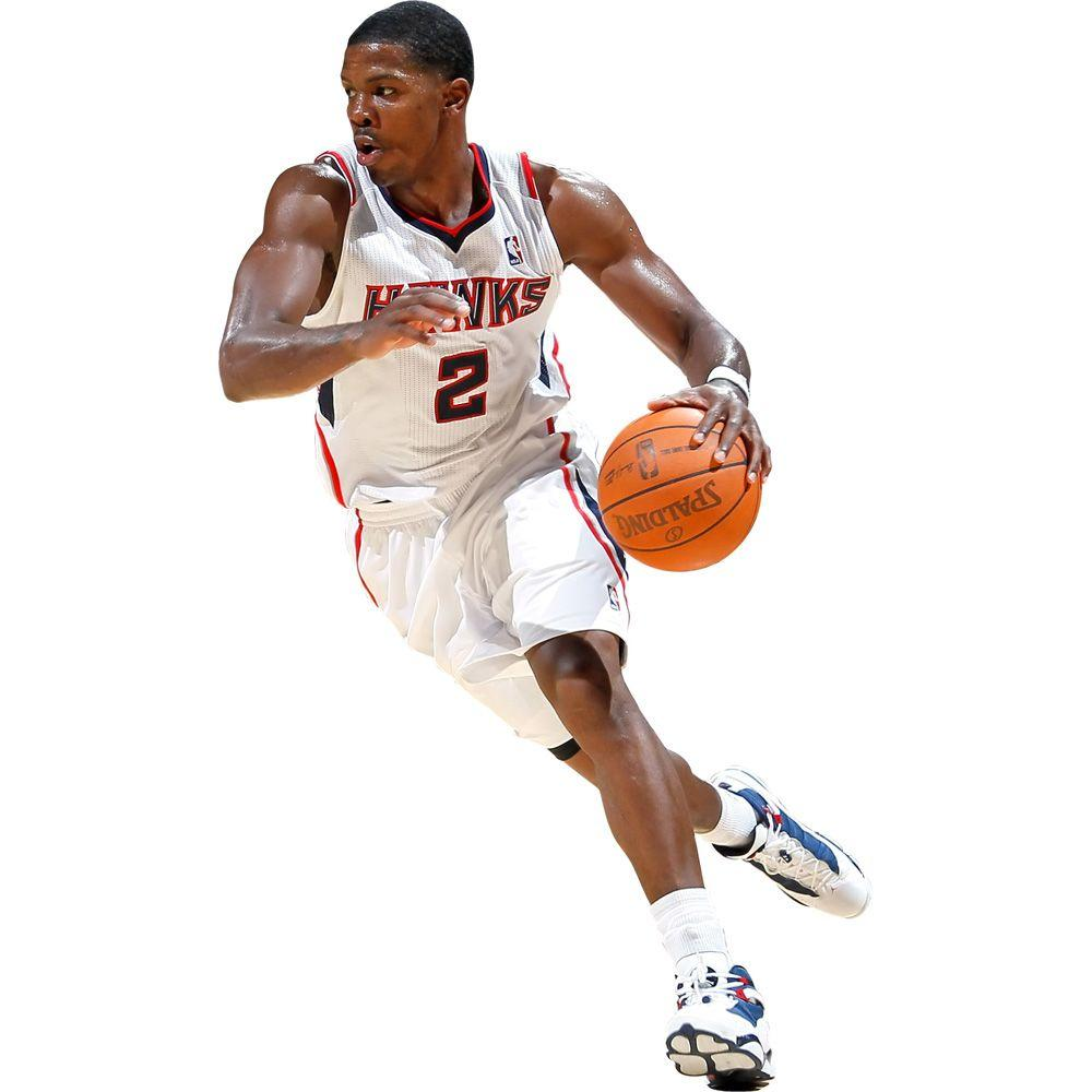 Fathead 32 in. x 19 in. Joe Johnson Wall Decal
