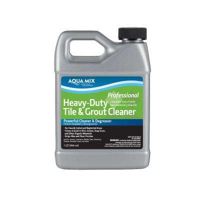 Aqua Mix 1 Qt. Heavy-Duty Tile and Grout Cleaner