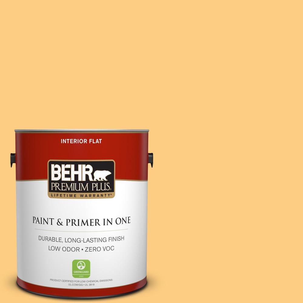 BEHR Premium Plus 1-gal. #P250-4 Equatorial Flat Interior Paint