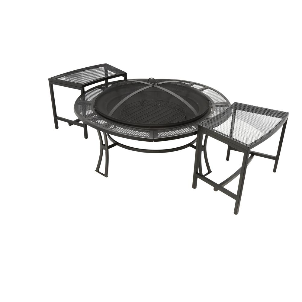 Stool - Fire Pit Sets - Outdoor Lounge Furniture - The Home Depot
