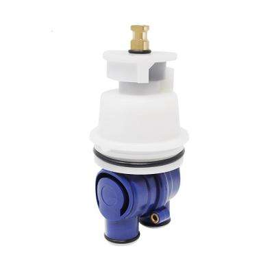 Single-Handle Cartridge for Delta Pressure Balance Tub and Shower Faucets
