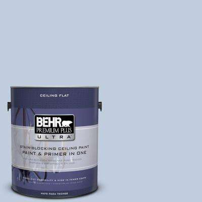 1 gal. #UL240-13 Ceiling Tinted to Monet Flat Interior Paint and Primer in One