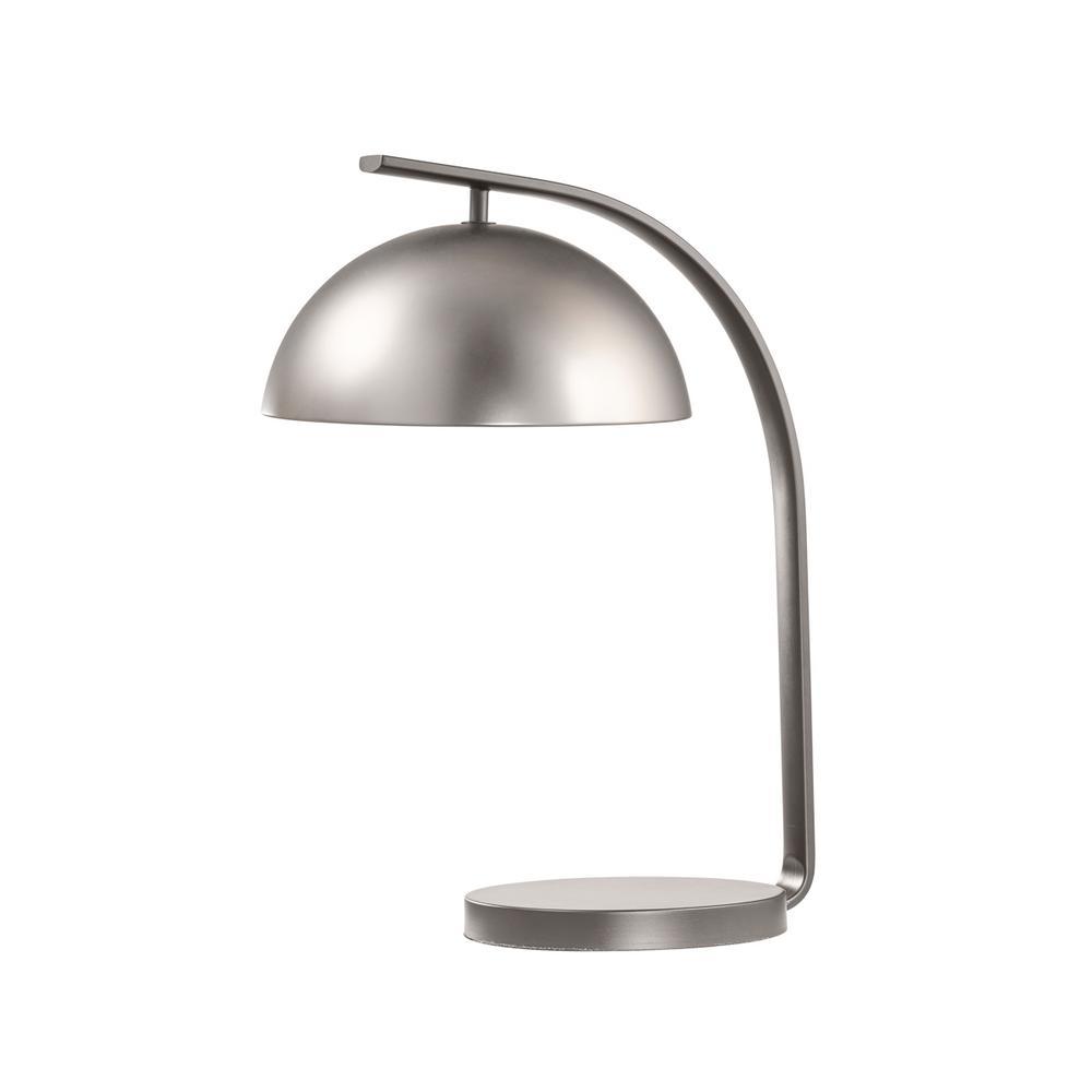 NOVA of California Domus 20 in. Satin Nickel Table Lamp