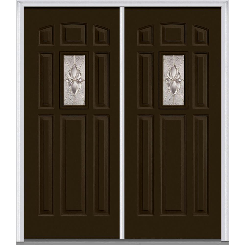 Mmi Door 72 In X 80 In Heirloom Master Right Hand Inswing 1 Lite