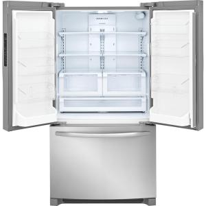 8 frigidaire 276 cu ft non dispenser french door refrigerator in stainless steel - Non Stainless Steel Appliances