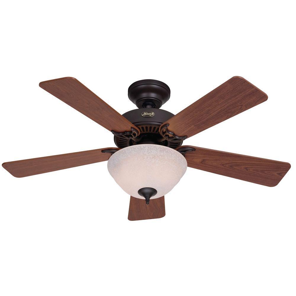 Hunter Kensington 42 in. Indoor New Bronze Ceiling Fan-DISCONTINUED