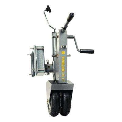 Tongue Jack Dolly with Crank Assist, 500 lb. Tongue / 5,000 lb. Trailer Rated