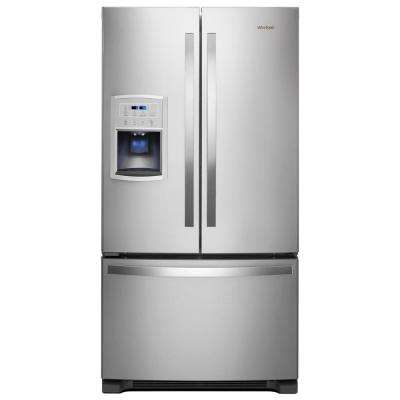 36 in. W 20 cu. ft. French Door refrigerator in Fingerprint Resistant Stainless Steel