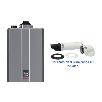 Super High Efficiency Plus 11 GPM Indoor Residential 199,000 BTU Natural Gas Tankless Water Heater with Termination Kit