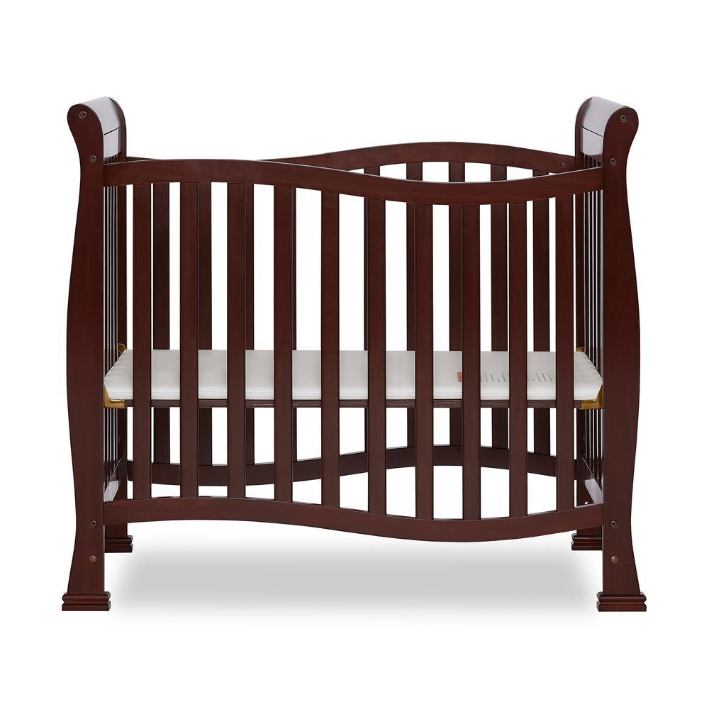 Dream On Me Piper Espresso 4-in-1 Convertible Mini Crib ...