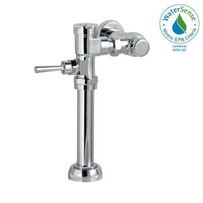Manual 1.28 GPF FloWise Flush Valve for 1.5 in. Top Spud Toilet in Polished Chrome