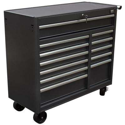 41 in. 12-Drawer Rolling Tool Cabinet