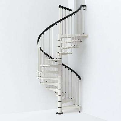 White Spiral Staircase Kit