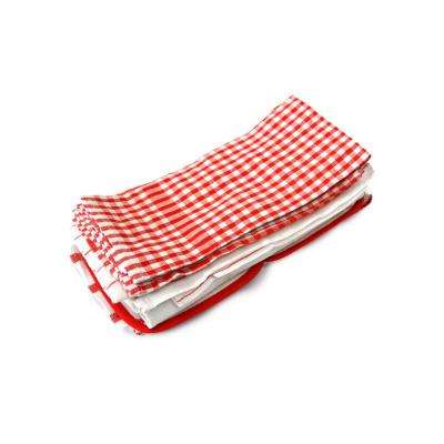Red Utility Dish Towel Set (Set of 20)