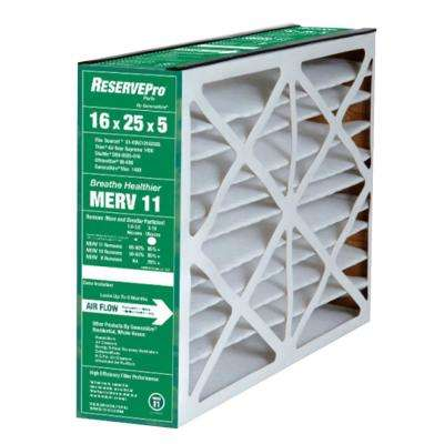 16 in. x 25 in. x 5 in. ReservePro 6FM1625 MERV 11 Air Filter