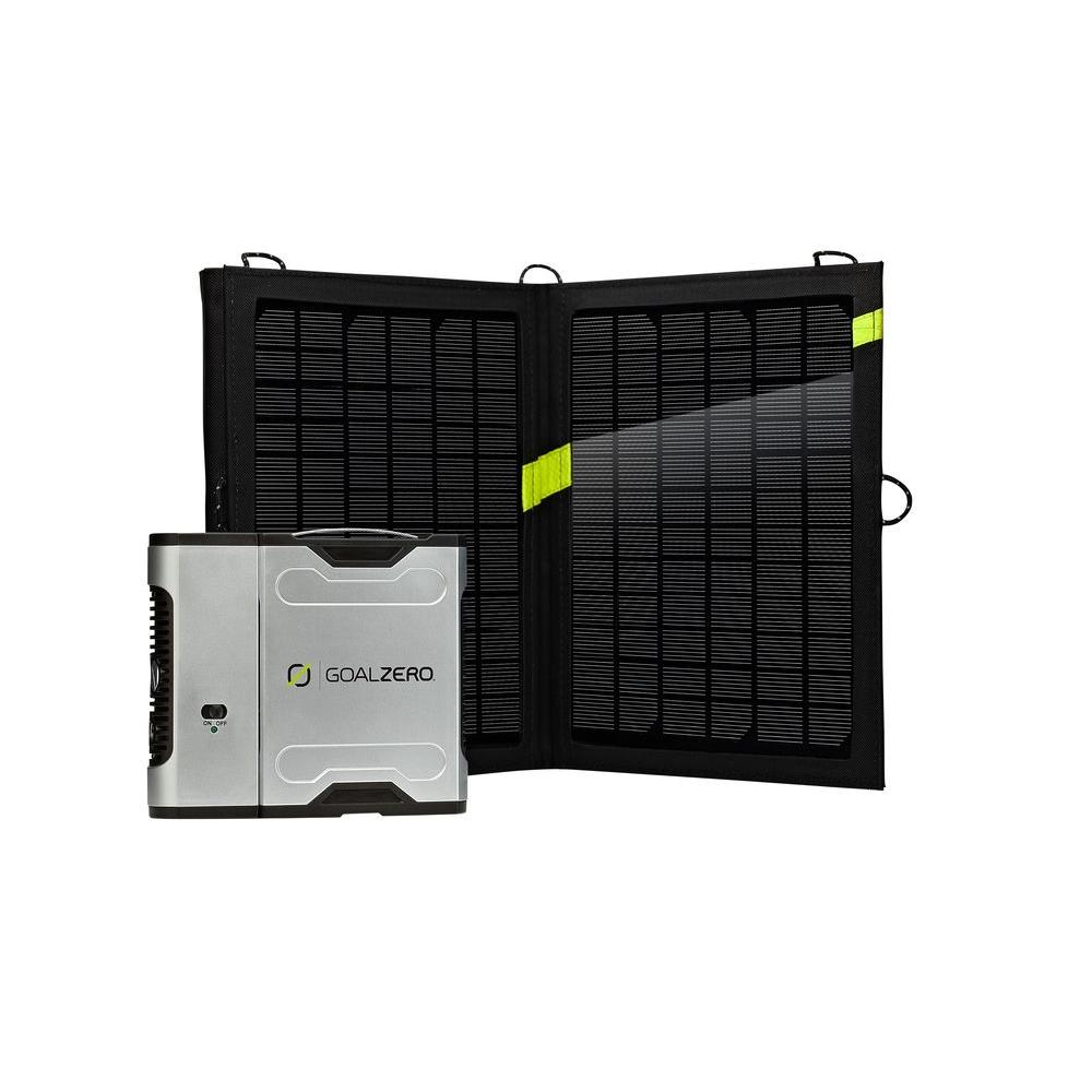 Goal Zero Sherpa 50 13-Watt Solar Recharging Kit with Inv...