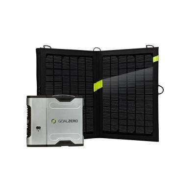 Sherpa 50 13-Watt Solar Recharging Kit with Inverter