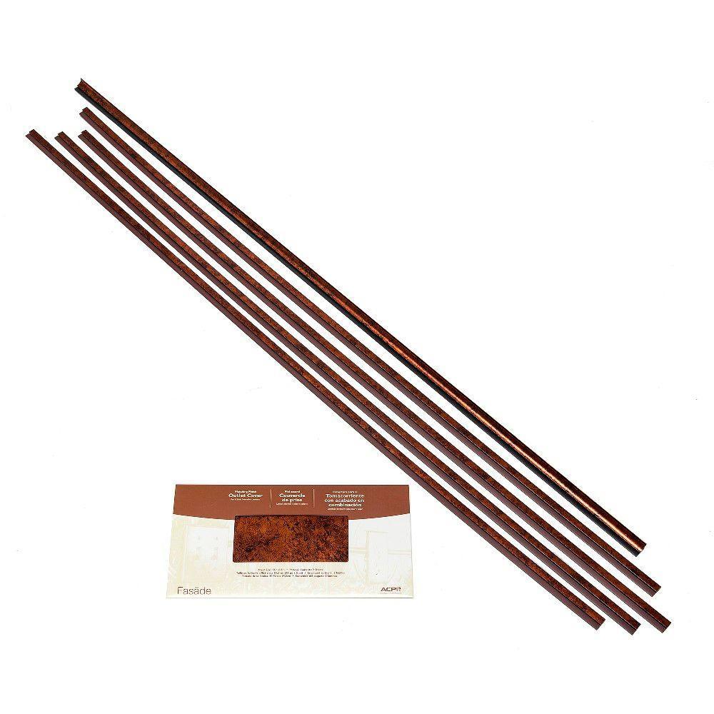 Backsplash Accessory Kit in Moonstone Copper