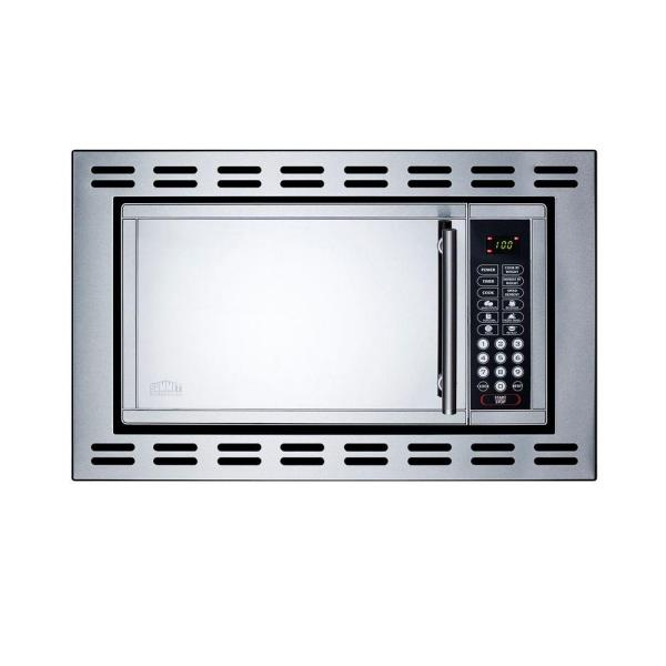 Summit Appliance 19 1 cu.ft. Built-In Microwave with 4.38 inch Trim