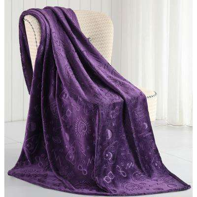 Morgan Home Micah Magical Plush Throw Blanket