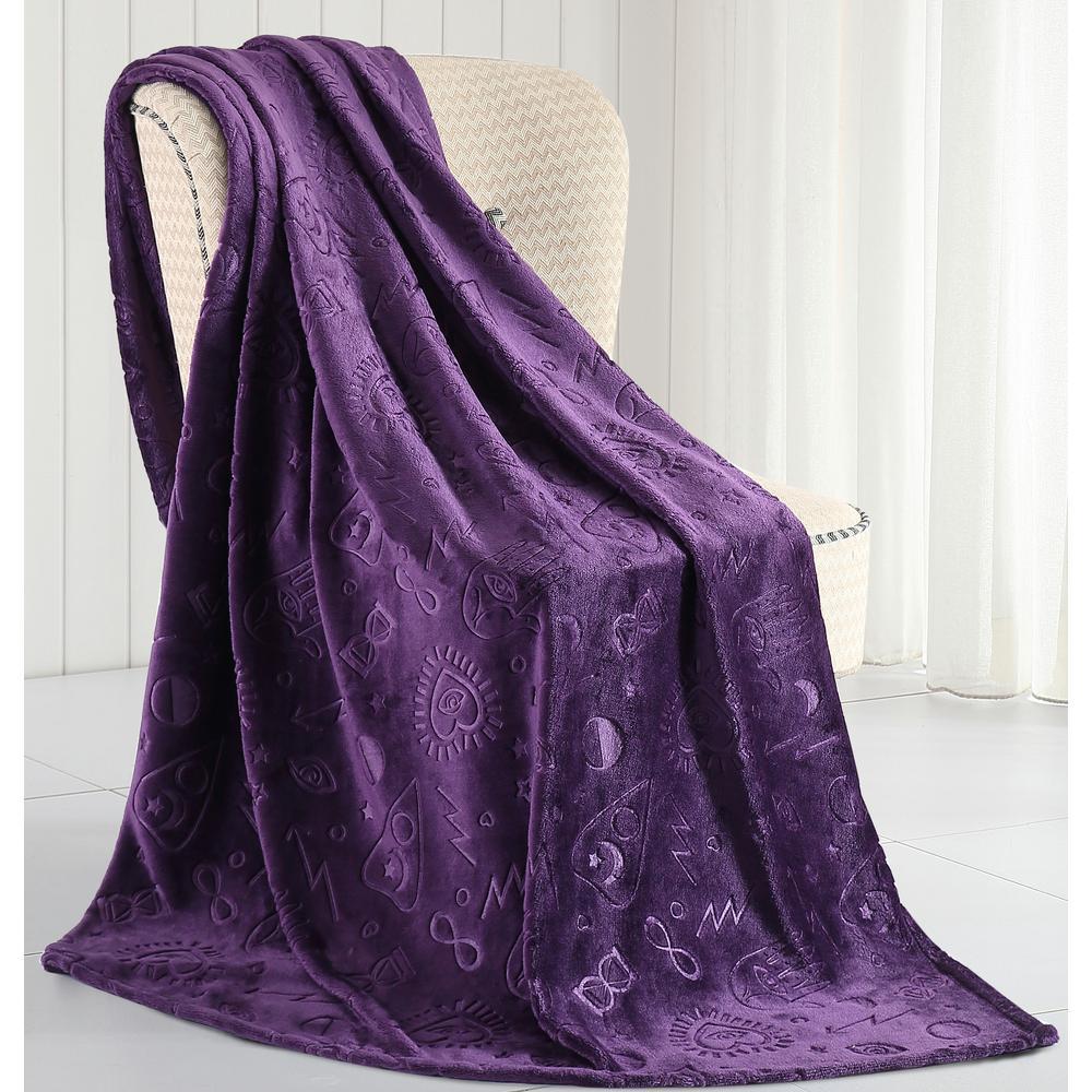Morgan Home Micah Magical Plush Throw Blanket