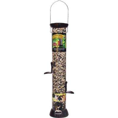 24 in. Onyx Clever Clean Sunflower/Mixed Seed Feeder
