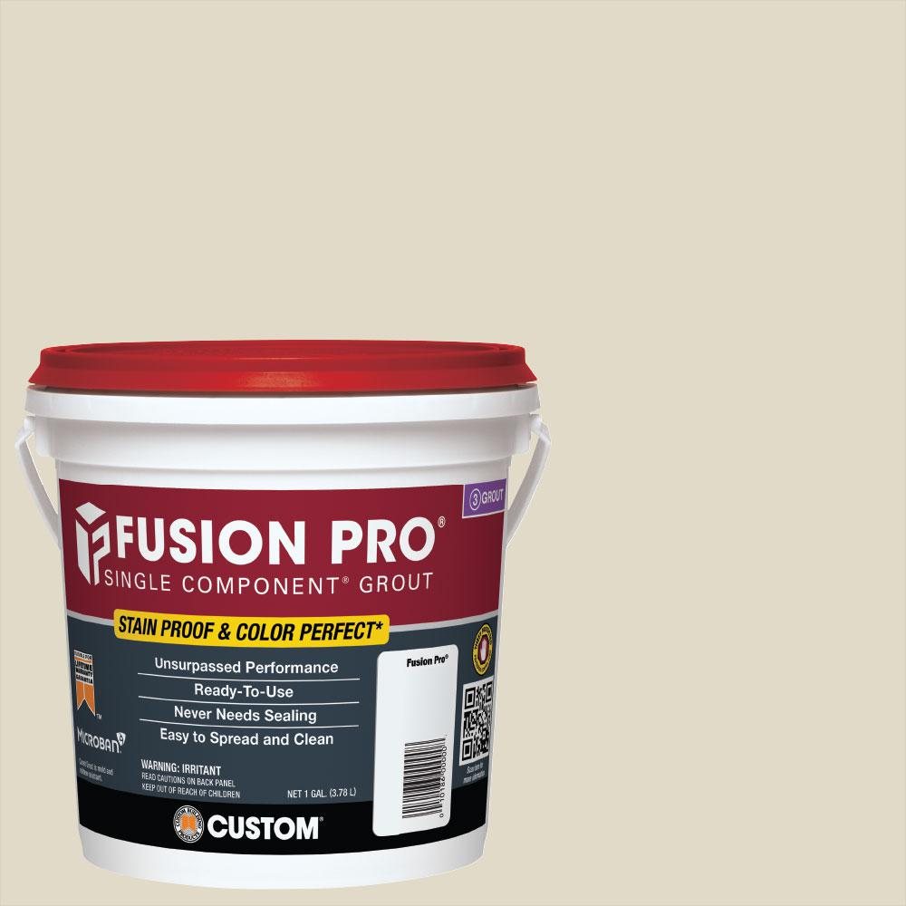 Custom Building Products Fusion Pro #333 Alabaster 1 Gal. Single Component Grout