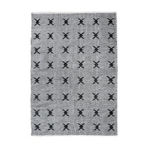 Eton Black and White 3 ft. x 5 ft. Indoor Area Rug