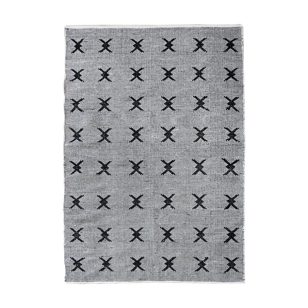 titan lighting eton black and white 5 ft x 8 ft indoor. Black Bedroom Furniture Sets. Home Design Ideas