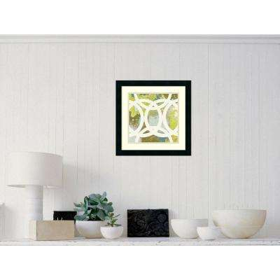 "18 in. W x 18 in. H ""Circling II"" by MAJA Framed Art Print"