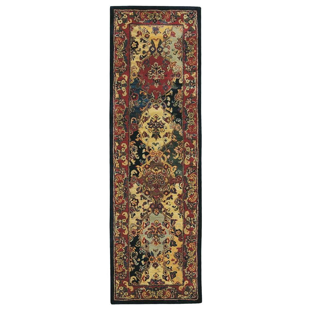 This Review Is FromIndia House Multicolor 2 Ft 3 In X 7 6 Rug Runner