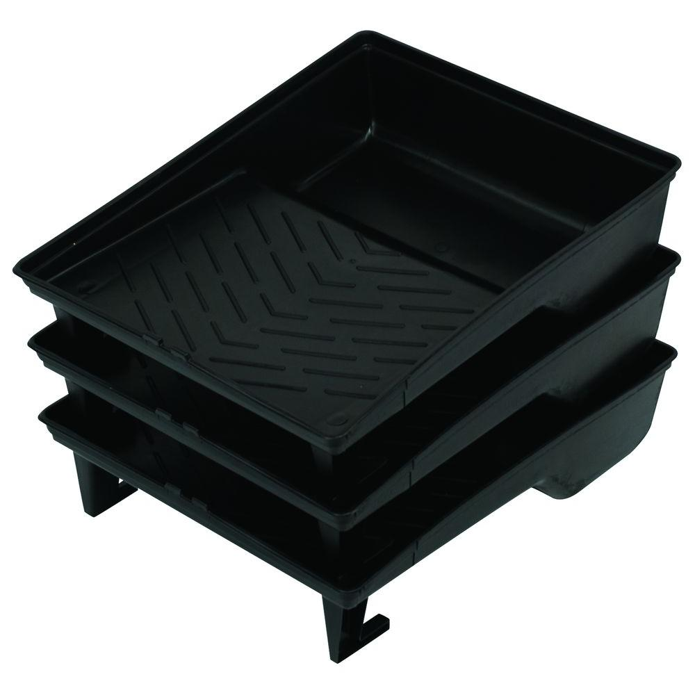 PREMIUM Plastic Roller Tray Set (3-Pack)-DISCONTINUED