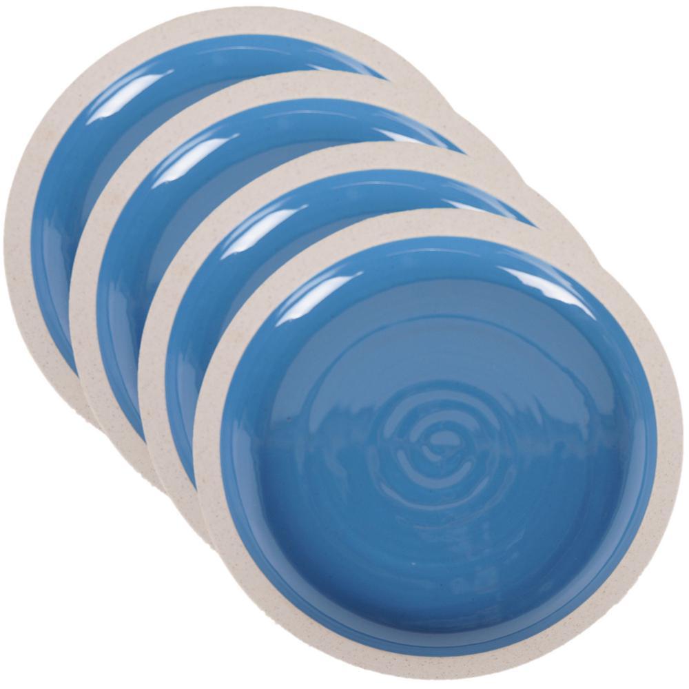 Artisan Blue Salad Plate (Set of 4)