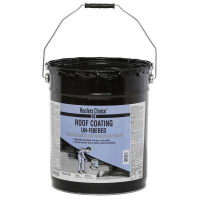 4.75 Gal. Unfibered Roof Coating