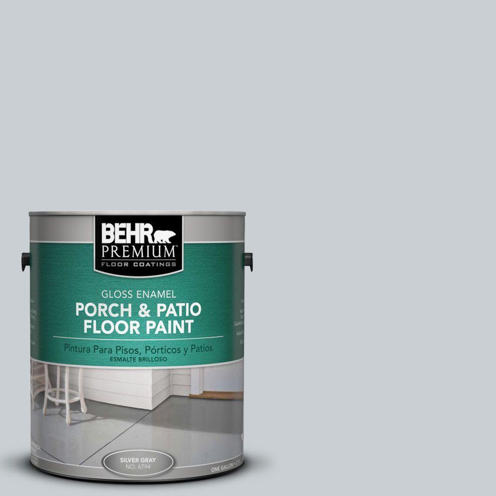 BEHR Premium 1 gal. #PFC-61 Foggy Morn Gloss Porch and Patio Floor Paint