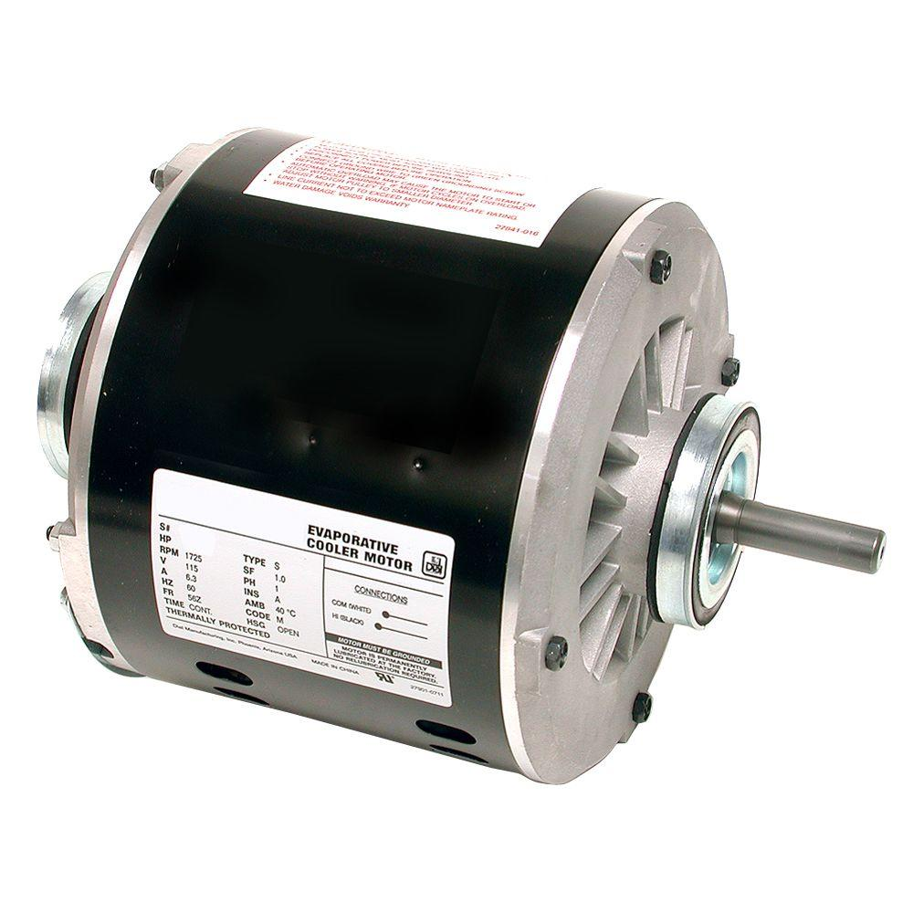 Dial 1 Speed 1 2 Hp Evaporative Cooler Motor 2203 The