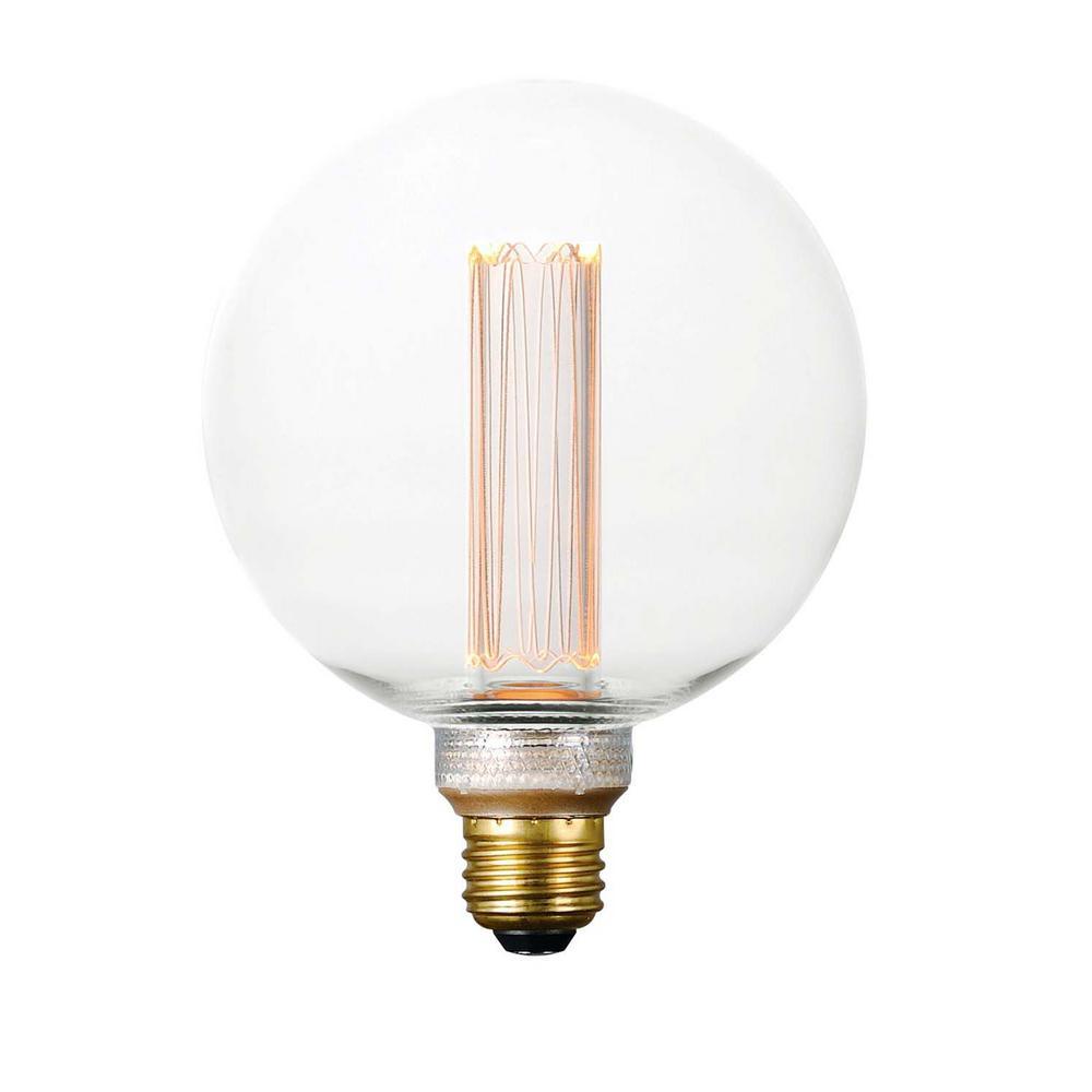 60-Watt Equivalent Dimmable LED E26 G125 Classic Pattern Light Bulb