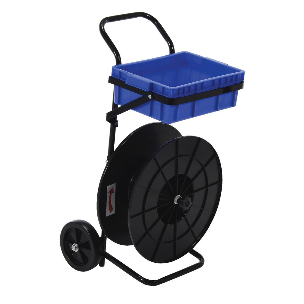 Vestil 16 in. x 18 in. x 38 in. Poly Strapping Cart