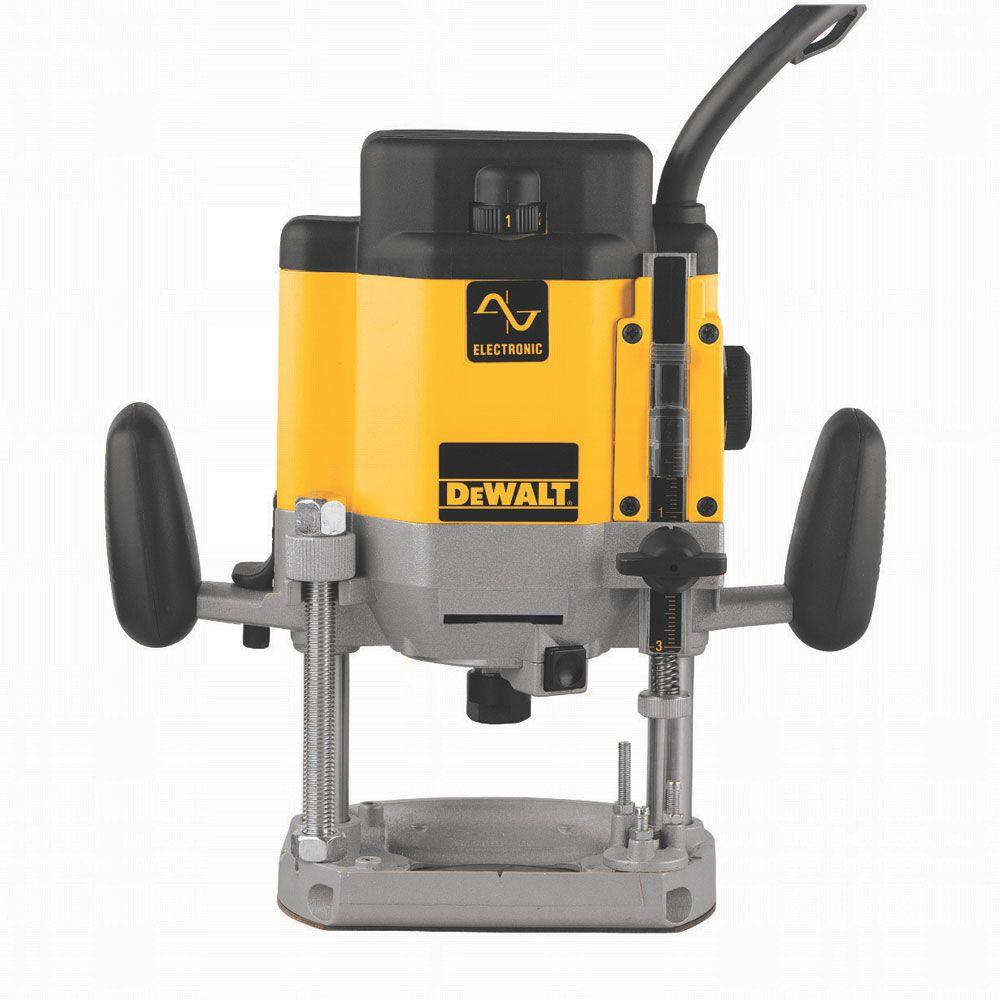 Dewalt 3 hp evs plunge router dw625 the home depot dewalt 3 hp evs plunge router greentooth Image collections